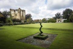 Het kasteel van Guildford Royalty-vrije Stock Foto