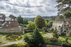 Het kasteel van Guildford Royalty-vrije Stock Afbeelding