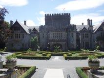 Het kasteel van Hatley royalty-vrije stock afbeelding