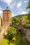 Het kasteel van Heidelberg Stock Fotografie