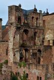 Het kasteel van Heidelberg, Duitsland Stock Afbeeldingen
