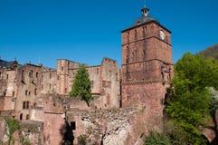 Het kasteel van Heidelberg, Duitsland Royalty-vrije Stock Afbeelding
