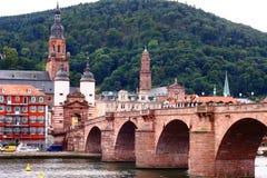 Het Kasteel van Heidelberg in Duitsland Stock Afbeeldingen
