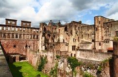 Het Kasteel van Heidelberg, Duitsland in HDR Royalty-vrije Stock Foto's
