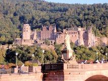 """Het Kasteel van Heidelberg - Heidelberger Schloss - Architecturaal meesterwerk van de renaissance †""""Duitsland stock foto"""