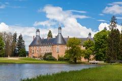 Het kasteel van heilige Fargeau Royalty-vrije Stock Afbeeldingen