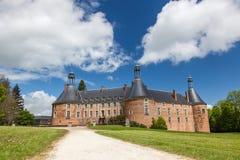Het kasteel van heilige Fargeau Stock Foto