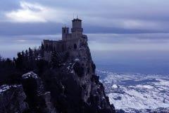 Het kasteel van heksen royalty-vrije stock fotografie