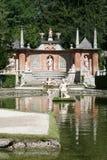 Het Kasteel van Hellbrunn Stock Afbeeldingen