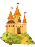 Het Kasteel van het beeldverhaal royalty-vrije illustratie