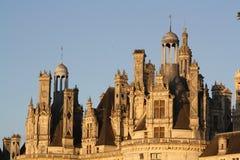 Het kasteel van het dak Royalty-vrije Stock Afbeelding