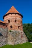 Het Kasteel van het Eiland van Trakai Stock Foto