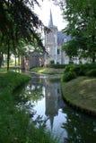Het kasteel van het park Stock Foto