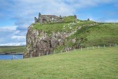 Het kasteel van het Skyeeiland Stock Afbeelding