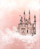 Het kasteel van het sprookje royalty-vrije illustratie