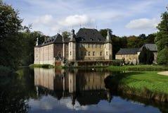 Het kasteel van het water Royalty-vrije Stock Afbeelding