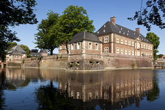 Het Kasteel van het Water van Ahaus Royalty-vrije Stock Foto