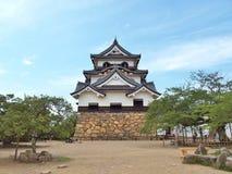 Het Kasteel van Hikone in Shiga Prefectuur, Japan stock fotografie