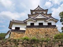 Het Kasteel van Hikone in Shiga Prefectuur, Japan stock foto's