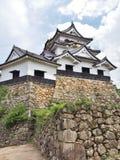 Het Kasteel van Hikone in Shiga Prefectuur, Japan stock afbeeldingen