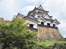 Het Kasteel van Hikone in Shiga Prefectuur, Japan stock foto