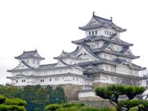 Het Kasteel van Himeji stock afbeeldingen