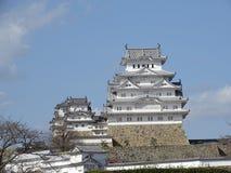 Het kasteel van Himeji Stock Foto