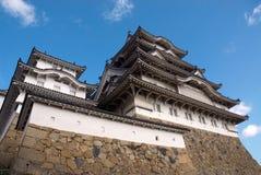 Het Kasteel van Himeji stock fotografie