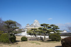 Het kasteel van Himeji Royalty-vrije Stock Fotografie
