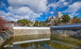 Het Kasteel van Himeji, Himeji, Hyogo-Prefectuur, Japan royalty-vrije stock afbeeldingen