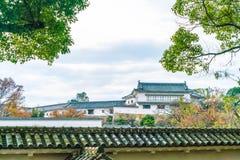 Het Kasteel van Himeji in Hyogo-Prefectuur, Japan, Unesco-Werelderfenis royalty-vrije stock fotografie