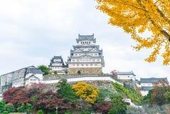 Het Kasteel van Himeji in Hyogo-Prefectuur, Japan, Unesco-Werelderfenis stock foto