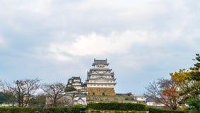 Het Kasteel van Himeji in Hyogo-Prefectuur, Japan, Unesco-Werelderfenis stock afbeelding