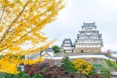 Het Kasteel van Himeji in Hyogo-Prefectuur, Japan, Unesco-Werelderfenis royalty-vrije stock afbeelding