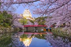 Het kasteel van Himeji, Japan royalty-vrije stock afbeeldingen