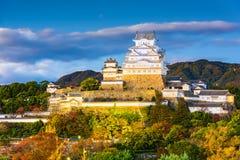 Het kasteel van Himeji, Japan royalty-vrije stock foto