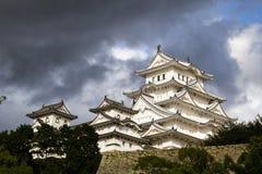 Het kasteel van Himeji, Japan Stock Foto