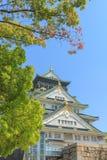 Het Kasteel van Himeji, Osaka Japan Royalty-vrije Stock Foto's