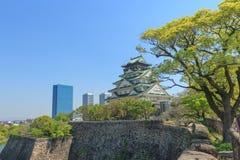 Het Kasteel van Himeji, Osaka Japan Stock Afbeeldingen