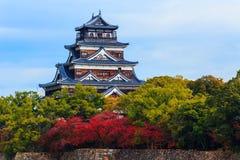 Het Kasteel van Hiroshima Stock Fotografie