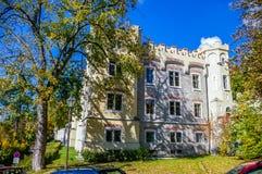 Het Kasteel van Hluboka in Tsjechische Republiek Royalty-vrije Stock Foto