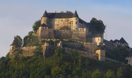 Het Kasteel van Hochosterwitz, Carinthia, Kaernten Stock Afbeelding