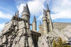 Het Kasteel van Hogwarts Stock Foto's