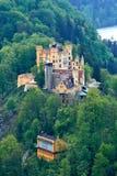 Het kasteel van Hohenschwangau Royalty-vrije Stock Foto's
