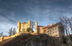 Het kasteel van Hohenschwangau. Royalty-vrije Stock Foto