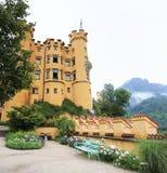 Het Kasteel van Hohenschwangau Royalty-vrije Stock Afbeeldingen