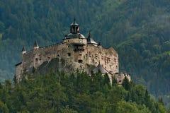 Het kasteel van Hohenwerfen in Oostenrijk royalty-vrije stock foto