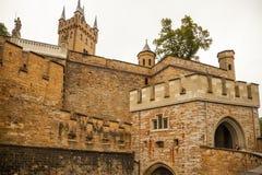 Het kasteel van Hohenzollern Royalty-vrije Stock Foto