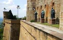 Het kasteel van Hohenzollern Stock Fotografie
