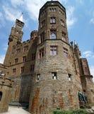 Het kasteel van Hohenzollern stock foto's